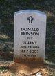 Profile photo:  Donald Brinson
