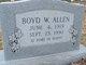 Rev Boyd Weaver Allen