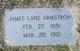 James Lane Armstrong