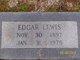 Edgar Lewis