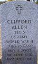 Profile photo:  Clifford Allen