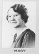 Mary Elizabeth Ophelia <I>Johnston</I> Evans