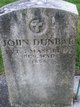 Pvt John Dunbar