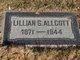 Profile photo:  Lillian Gertrude <I>Davidson</I> Allcott