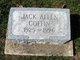 Profile photo:  Jack Allen Coffin