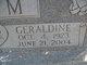Profile photo:  Geraldine <I>Binidict</I> Tatum