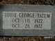 Profile photo:  Louie George Tatum