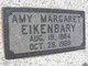 Profile photo:  Amy Margaret <I>Eldridge</I> Eikenbary