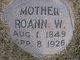 Profile photo:  Roann <I>Wall</I> Threet