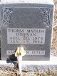 Profile photo:  Thursa Matilda <I>Bryan</I> Fortenberry