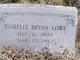 Isabelle <I>Bryan</I> Lowe