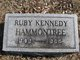 Ruby <I>Kennedy</I> Hammontree