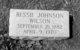 "Mary Viola ""Bessie"" <I>Johnson</I> Wilson"