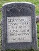 Rosa B. <I>Smith</I> Shultz