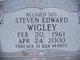 Steven Edward Wigley