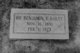 Dr Benjamin Franklin Bailey