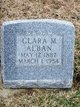 Profile photo:  Clara May <I>Beckner</I> Alban
