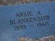 Profile photo:  Arkie Atha <I>Whitton</I> Blankenship