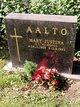 Mary Justina <I>Nyirongo</I> Aalto