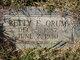 Betty E <I>South</I> Orum