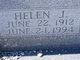 Helen J Adams