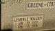 "Lemerle ""Lee"" <I>Walden</I> Greene"