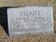 "Martha Belle ""Mattie"" <I>Harvey</I> Elliott"