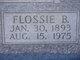 Flossie <I>Burdett</I> Bramlett