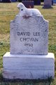 Profile photo:  David Lee Chovan