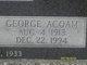 Profile photo:  George Acoam Carroll