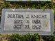Profile photo:  Bertha <I>Jones</I> Knight