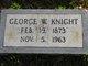 Profile photo:  George Wesley Knight