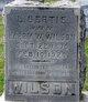 "Lillia Bertha ""Bertie"" <I>Wilson</I> Wilson"