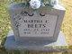 Martha Evelyn Beets
