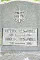 Profile photo:  Alfredo Benavides