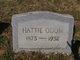 Hattie <I>Mobley</I> Odom