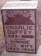 Profile photo:  Charlie Duffey
