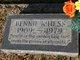 Bennie <I>Knight</I> Hess