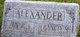 """Francis Marion """"Alec"""" Alexander, Jr"""