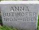 Profile photo:  Anna <I>Frieden</I> Butikofer