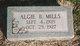 Algie B Mills