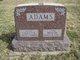 Lillus Elmina <I>Davis</I> Adams