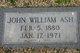 John William Ash
