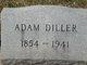 Profile photo:  Adam Diller