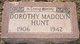 Dorothy Madolyn Hunt