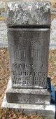 Mary Jane <I>Chapman</I> Baker