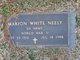 Profile photo:  Marion White Neely
