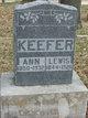 Profile photo:  Ann <I>West</I> Keefer