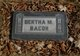 Bertha Mabel <I>Ferrell</I> Bacon