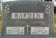 William E Barden